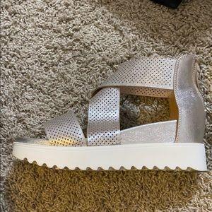 Slate silver Sandals